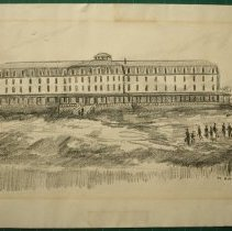 Image of V-296 - Drawing of Oceanic Hotel
