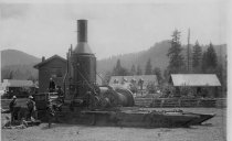 Image of GN5631 - Lumber - Transportation - Steam/Gasoline Donkeys