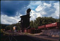 Image of DH2836 - Colorado Vacation Trip - Chama, New Mexico Rail Yards