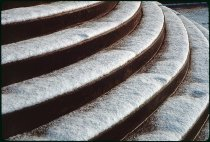 Image of DH3699 - Snow on the University of Oregon Campus