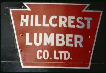 Image of DH9531 - Hillcrest Lumber Co.