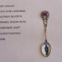 Image of Cilvil War LaGrange GA Spoon