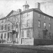 Image of PHOTOGRAPH, JEREMIAH LEE MANSION, 161 WASHINGTON ST., FRONT AND EAST FACADE