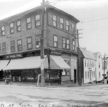 Image of PHOTOGRAPH, FIRST NATIONAL STORE, CORNER OF WASHINGTON  AND STATE ST.