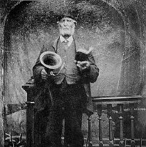 Image of PHOTOGRAPH, (3 COPIES) NATHANIEL BLISS, MARBLEHEAD'S LAST TOWN CRIER