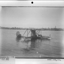 Image of PHOTOGRAPH, BURGESS CO. FLYING BOAT U.S.NAVY, BOOK 1, # ?