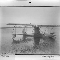 Image of PHOTOGRAPH, BURGESS CO. FLYING BOAT U.S.NAVY, BOOK 1, # 1695