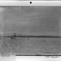 Image of PHOTOGRAPH, BURGESS DUNN FLYING BOAT, BOOK 1, # 1698