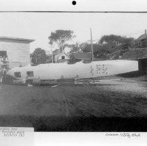 Image of PHOTOGRAPH, BURGESS ZEP FREIGHT YARD 9/14/18 (E), BOOK 3, # ? - BLACK AND WHITE PHOTOGRAPH