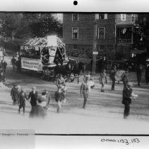 Image of PHOTOGRAPH, BURGESS PARADE, BOOK 5, # ? - BLACK AND WHITE PHOTOGRAPH
