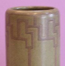 Image of VASE, MARBLEHEAD POTTERY