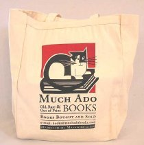 Image of BAG, (TOTE) FROM MUCH ADO BOOKSTORE
