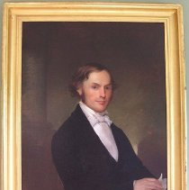 Image of PORTRAIT, REV. EDWARD A. LAWRENCE (B.10/7/1808, M. 5/20/1839, �D.9/3/1883 OR 9/4/1883) (EDWARD ALEXANDER LAWRENCE) BORN IN ST. �