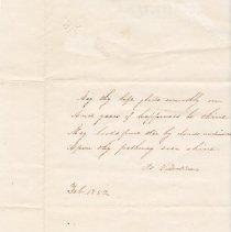 Image of Valentine's Day poem for Frederick King