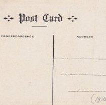 Image of Theological Seminary postcard reverse