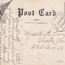 Image of Boleyn's Corner postcard reverse