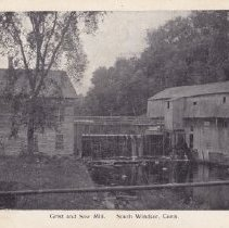 Image of Grist and sawmill [Podunk Mill] postcard