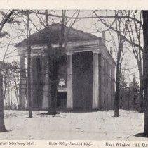 Image of Theological Seminary Hall postcard