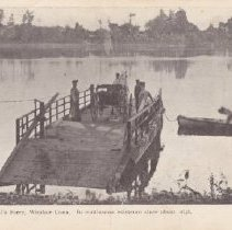 Image of Bissell's Ferry postcard