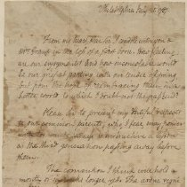 Image of Oliver Ellsworth letter