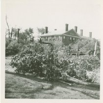 Image of 1938 storm damage at 1891 Main Street