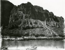Image of hill near a river