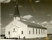 Image of a white church