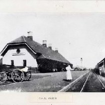 Image of C.N.R station