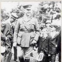 Image of Sir Arthur Currie and Son,1919