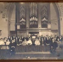 Image of Methodist Church Choir 1914