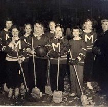 Image of Girls' Broomball Group