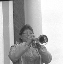 Image of Deirdre Pike played the Last Post