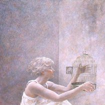 Image of American Art - Caged
