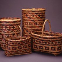 Image of Native American Baskets - Purse Basket