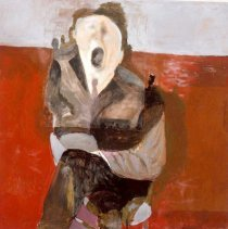 Image of American Art - Frightened Figure