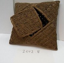 Image of Native American Baskets - Handkerchief Box