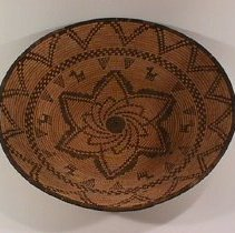 Image of Native American Baskets - Shallow Bowl