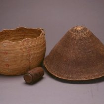 Image of Native American Baskets - Mingqaaq (Basket)