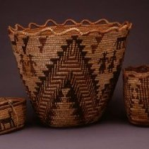 Image of Native American Baskets - Money Chest