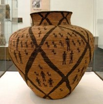 Image of Native American Baskets - Storage Jar