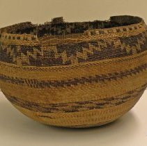 Image of Native American Baskets - Cooking or Storage Bowl