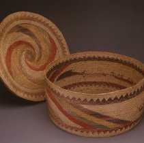 Image of Native American Baskets - Piku?u (Covered Basket)