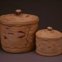 Image of Native American Baskets - Geometric Treasure Basket