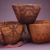 Image of Native American Baskets - Gathering Basket with Strap