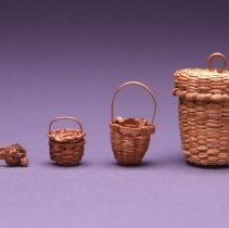 Image of Native American Baskets - Thimble Case
