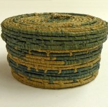 Image of Catherine Marshall Gardiner Basketry Collection - Small Covered Basket