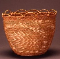 Image of Native American Baskets - Small Burden Basket