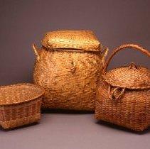 Image of Native American Baskets - Storage Basket