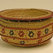 Image of Catherine Marshall Gardiner Basketry Collection - Bowl-Shaped Basket with Tray Lid
