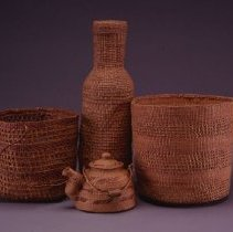 Image of Native American Baskets - Shal dakeidi (Spoon Basket)